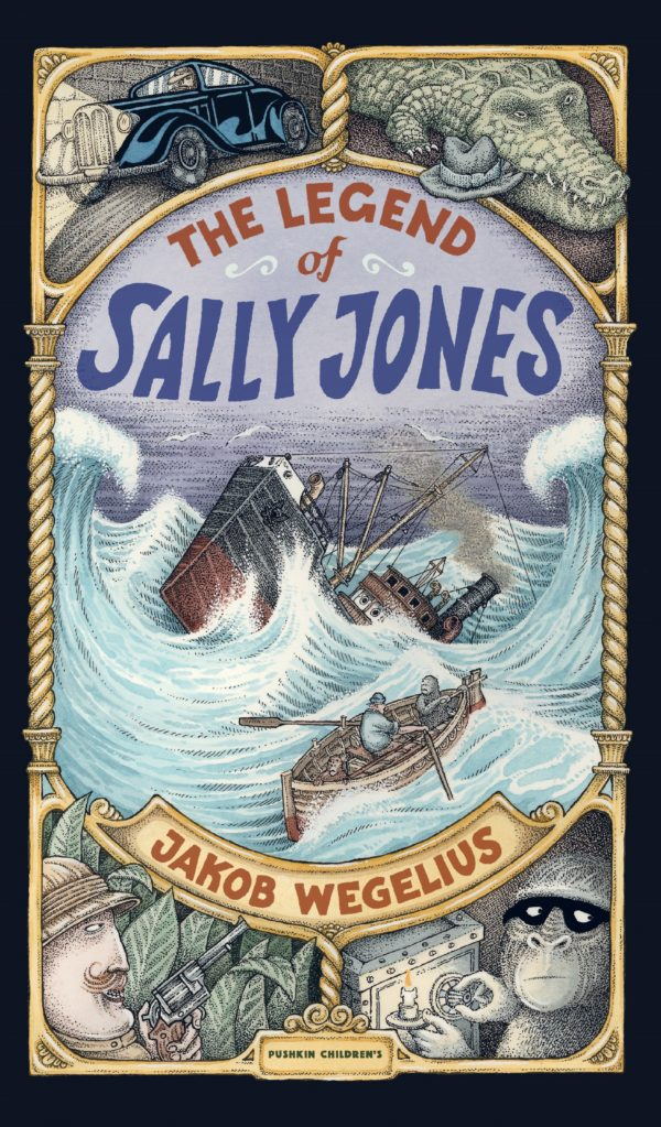 The Legend of Sally Jones by Jakob Wegelius